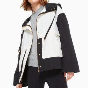 Kate Spade Colorblock Anorak Coat size 1